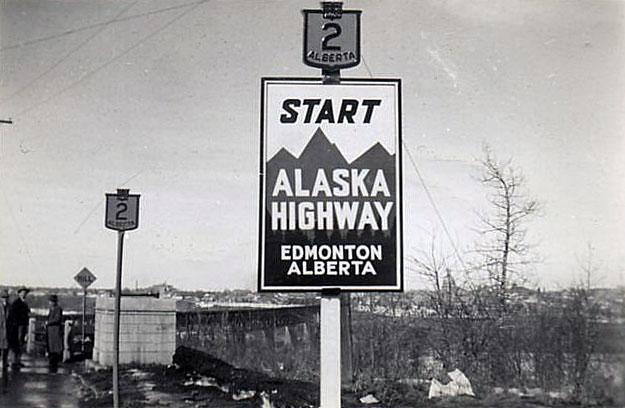 Alberta - Alaska Highway and provincial highway 2 - AARoads