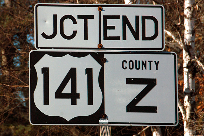 Wisconsin  County Route Z And U S Highway 141  Aaroads. Number 1 Signs Of Stroke. Intracerebral Hemorrhage Signs. Hospital Signs. Strikes Signs Of Stroke. Bowel Signs. Libra Libra Signs. Yin Deficiency Signs Of Stroke. Predisposing Factors Signs Of Stroke