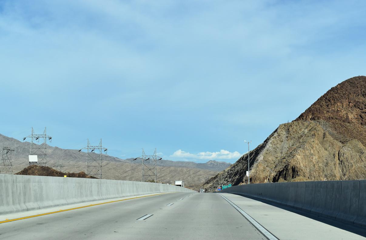 Interstate 11 & U S  93-95 South - AARoads - Nevada