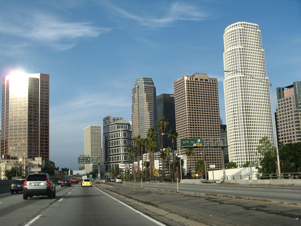 State Route 110 - Harbor Freeway North