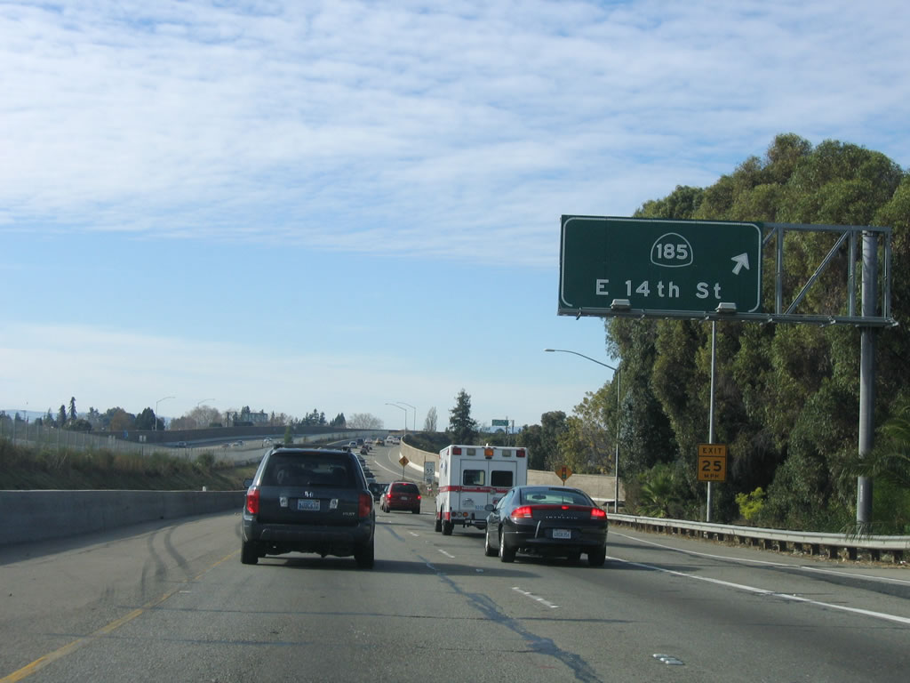 City Of San Leandro >> Interstate 238 - AARoads - California Highways