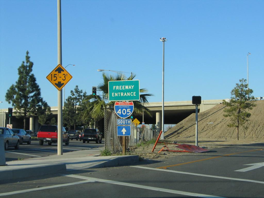 405 interstate california freeway blvd aaroads harbor san bl taken diego