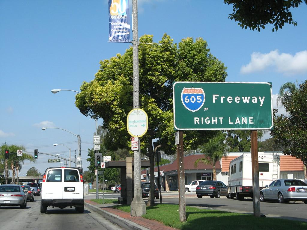 Interstate 605 - AARoads - California Highways
