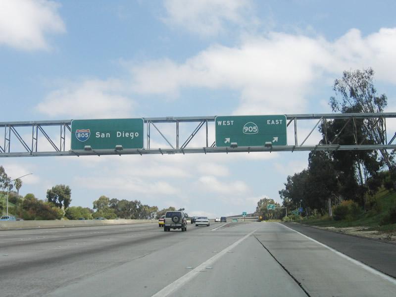 Northbound Interstate