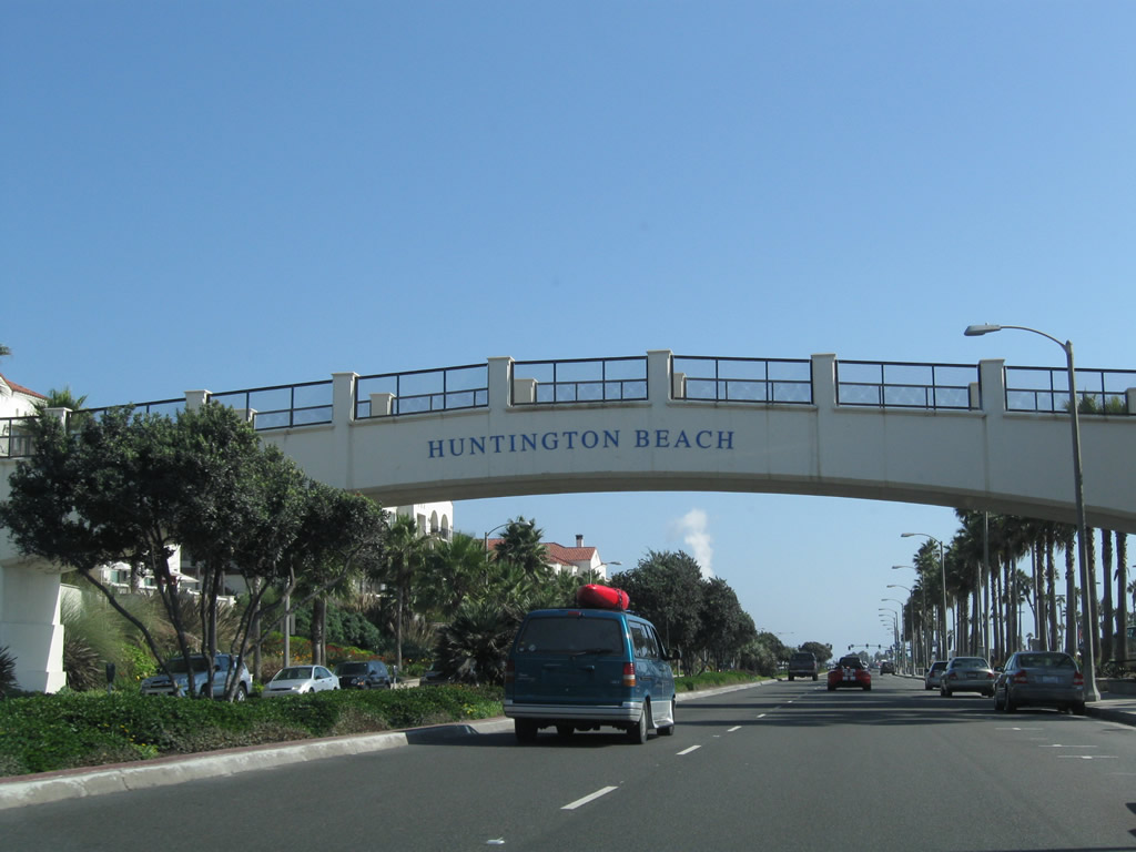 Pacific Coast Highway Huntington Beach