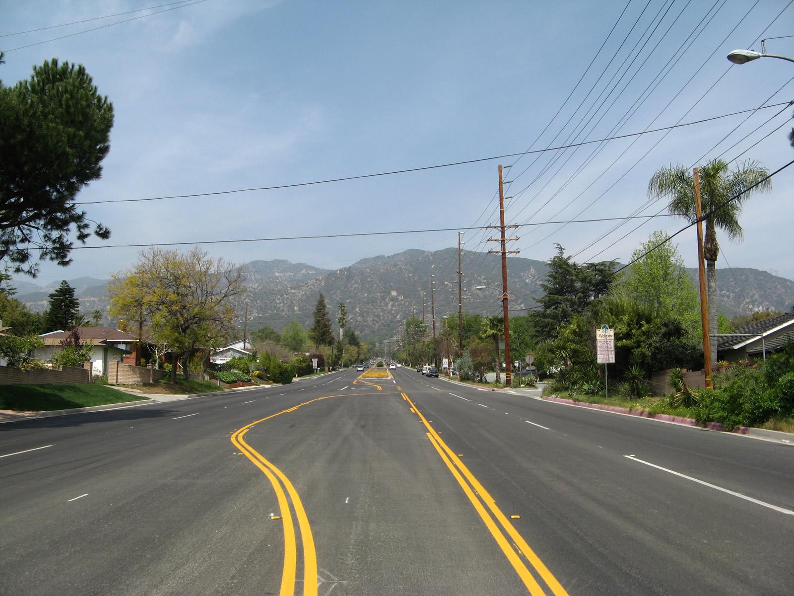 Wrightwood Elevation : California aaroads