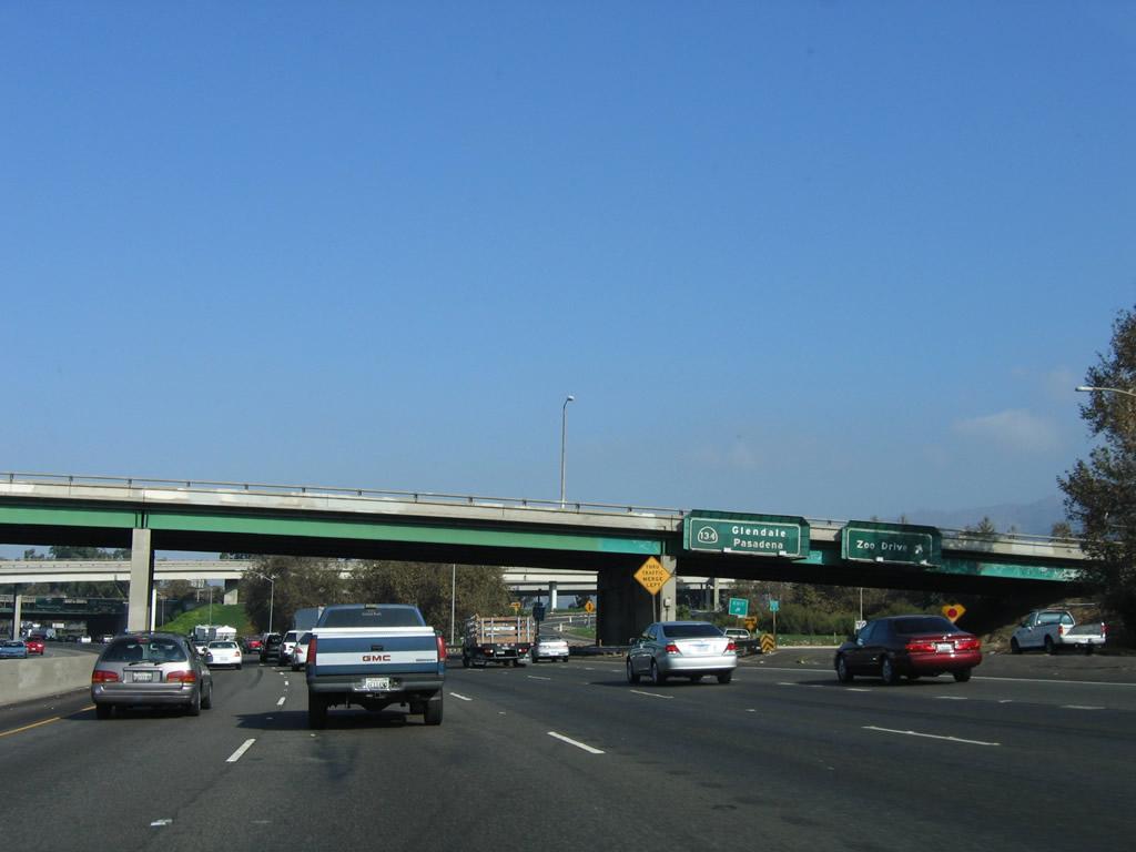 California Aaroads Interstate 5 North San Bernardino Freeway To California 14