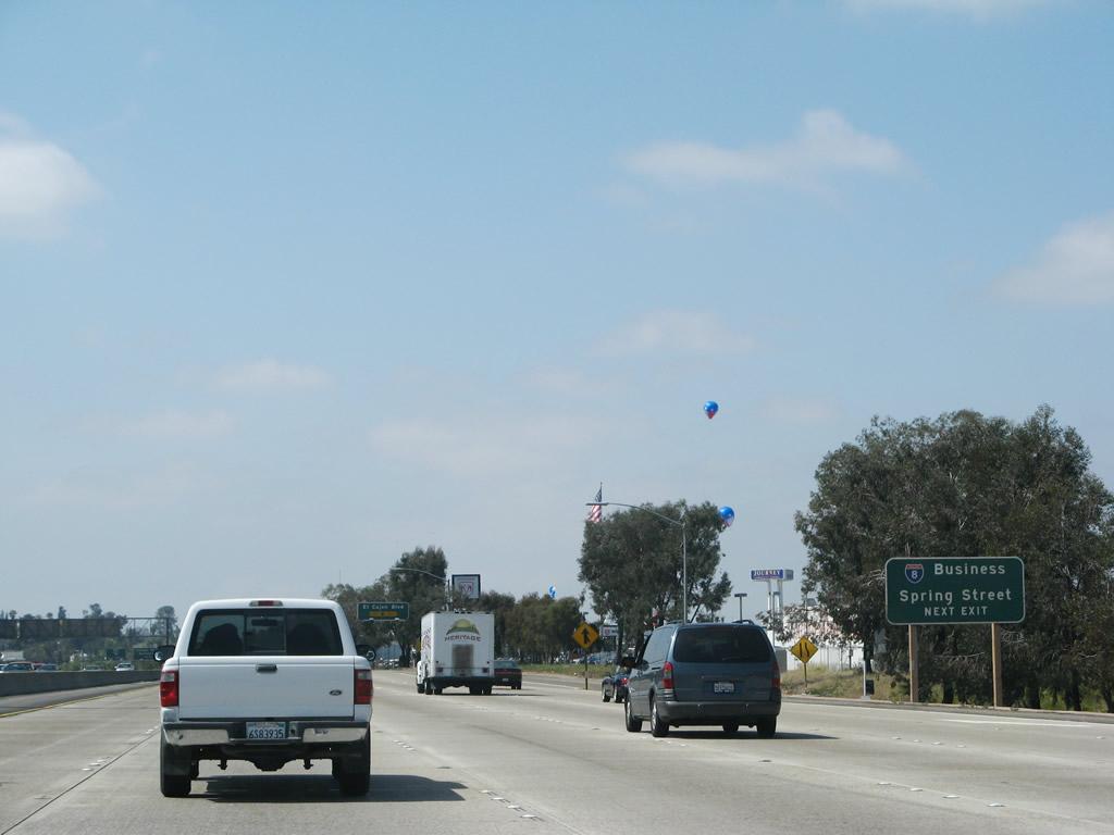 California @ AARoads - Interstate 8 West - California 125 ...