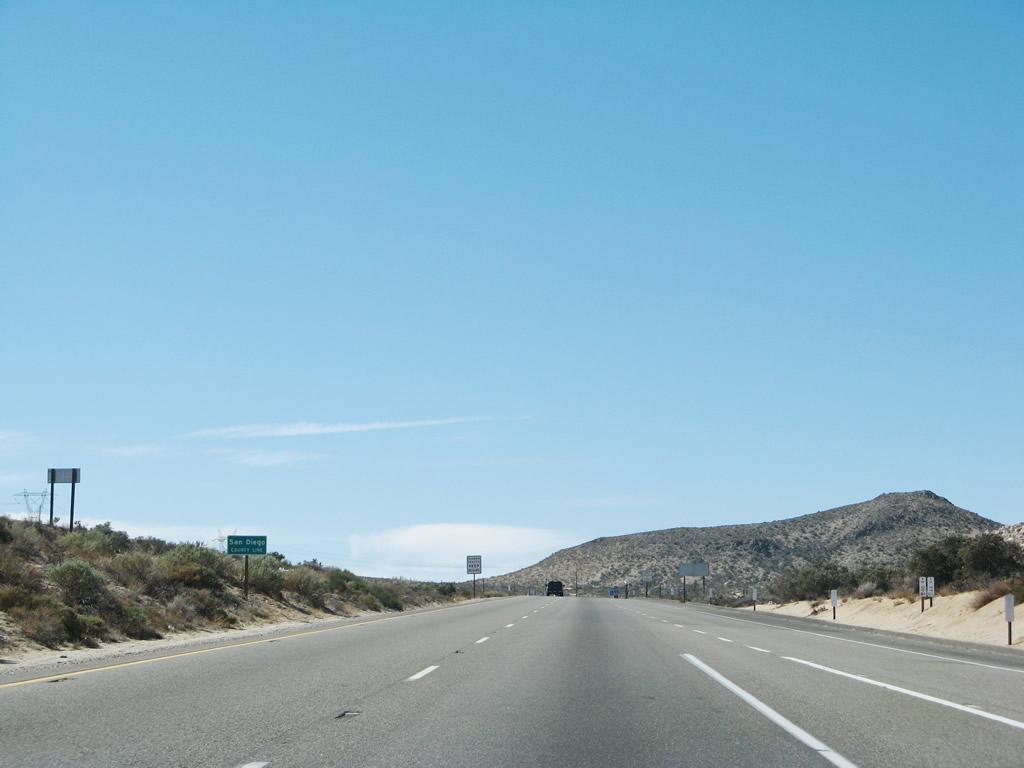 California @ AARoads - Interstate 8 West - California 79 to Sunset ...