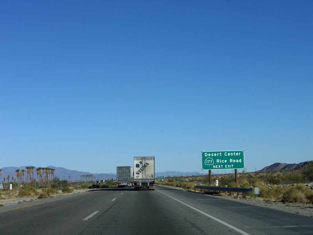 California State Route 62, US-95 to SR 177 « Corco Highways  |California State Route 177