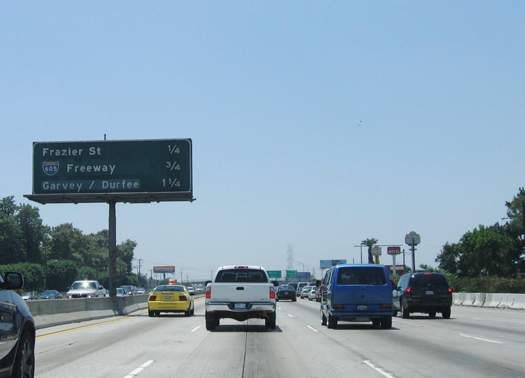 California @ AARoads - Interstate 10 West - Kellogg Interchange to