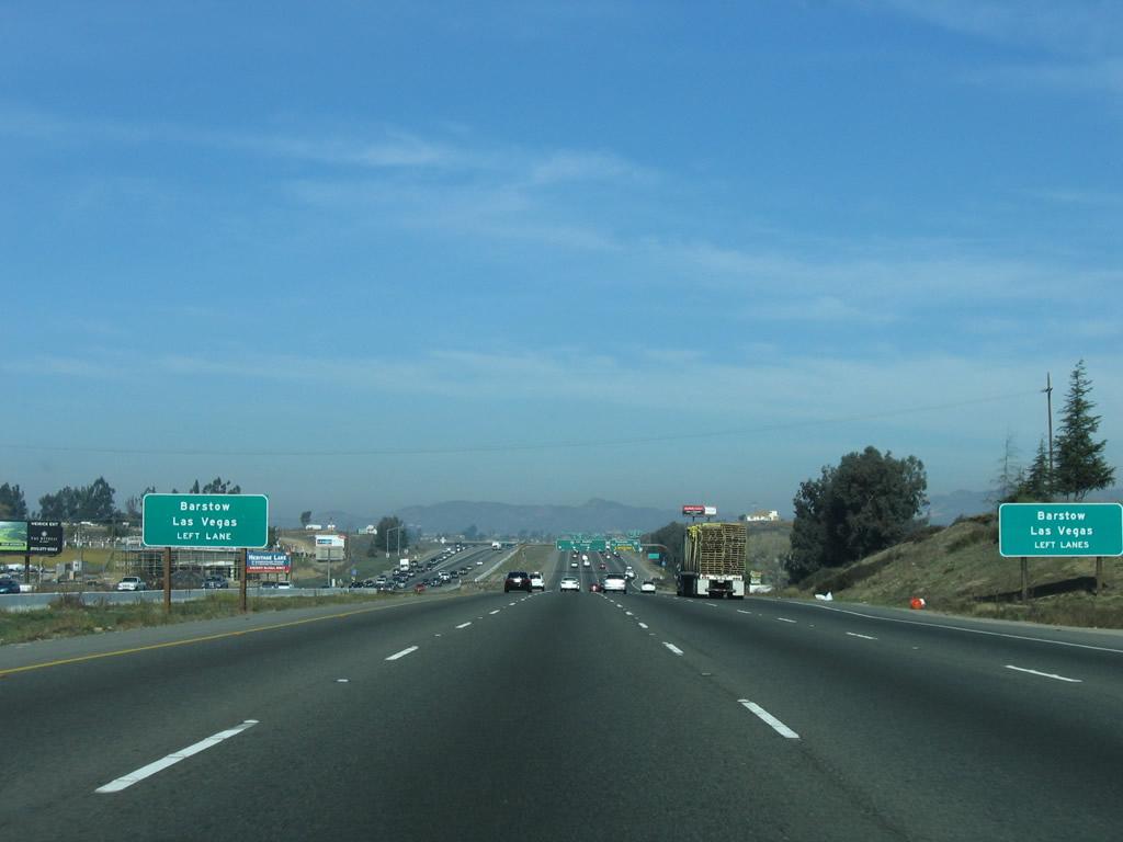 Distance from Temecula to San Bernardino
