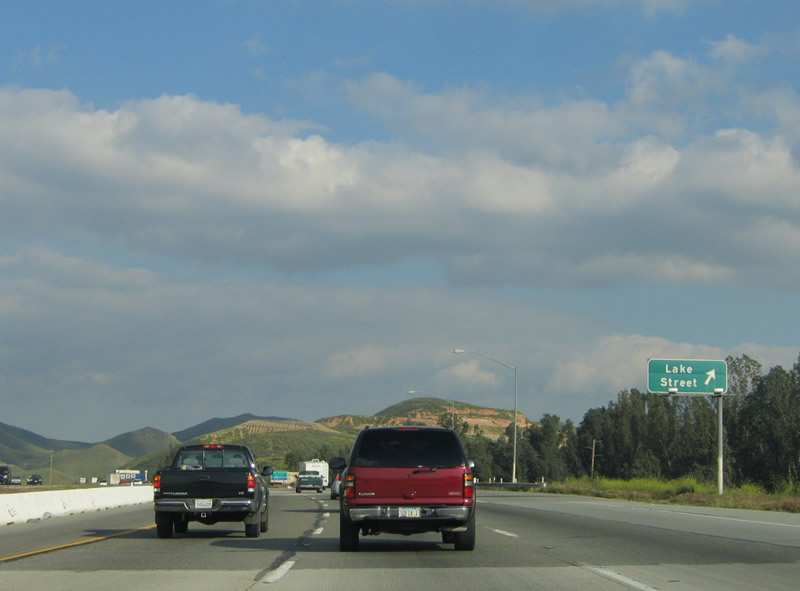 California @ AARoads - Interstate 15 South - Riverside County #2