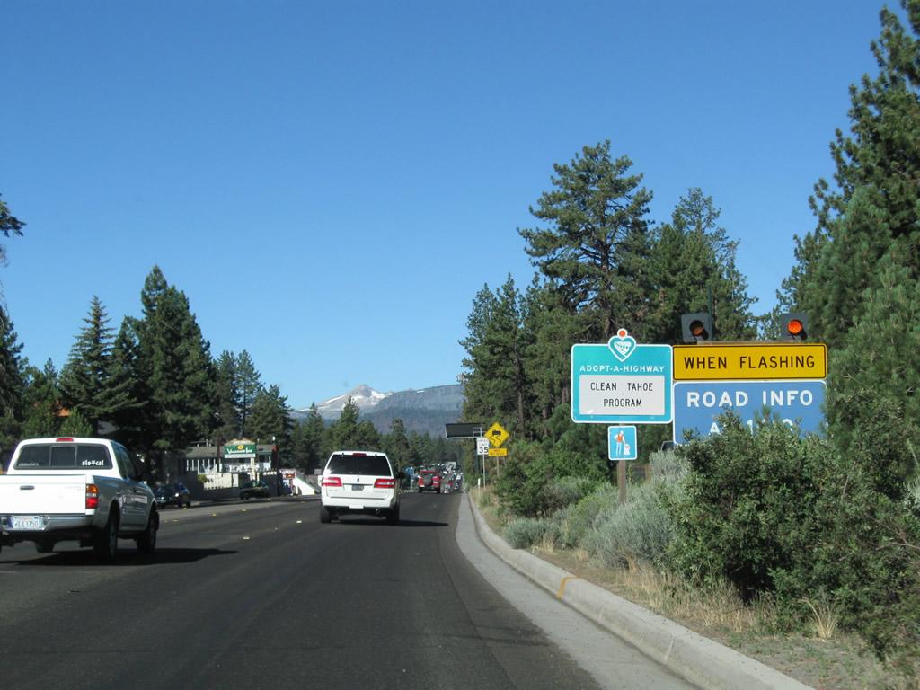California @ AARoads - U S  50 West - South Lake Tahoe to Meyers