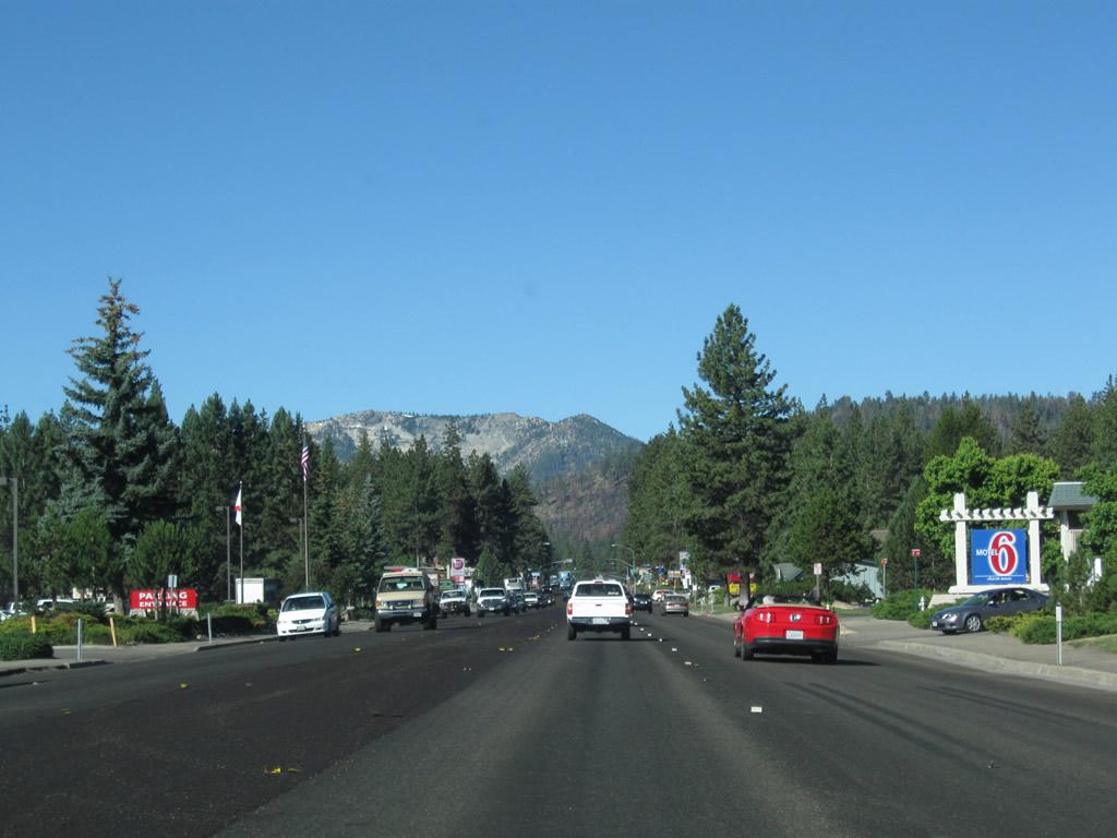 Echo Lake Ca >> California @ AARoads - U.S. 50 West - South Lake Tahoe to Meyers
