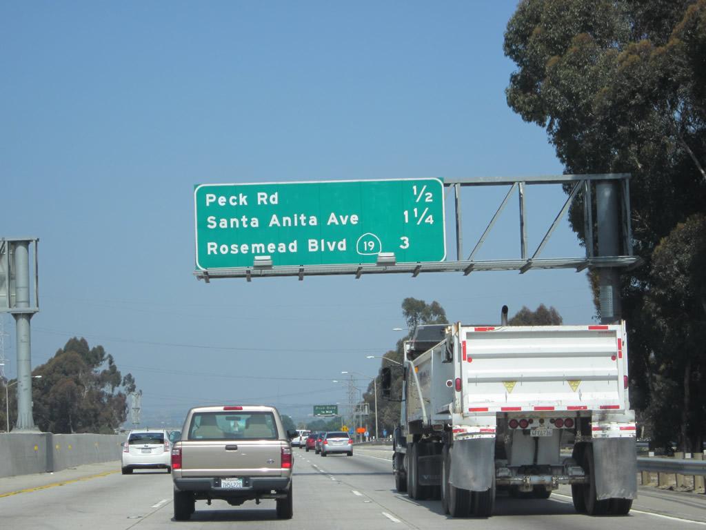 California Aaroads California 60 West Interstate 605