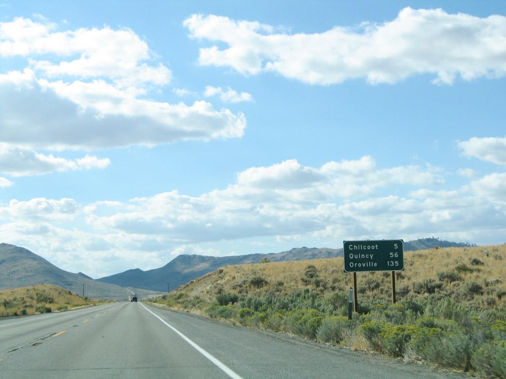 California @ AARoads - California 70 West