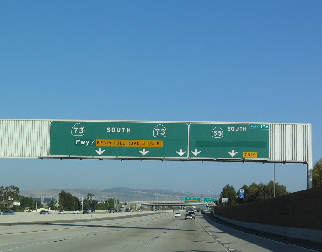 california @ aaroads - california 73 south
