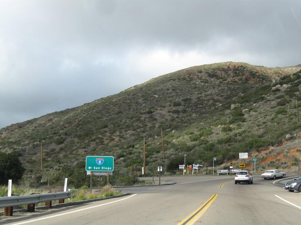 California Aaroads Historic U S 80 And Business Loop