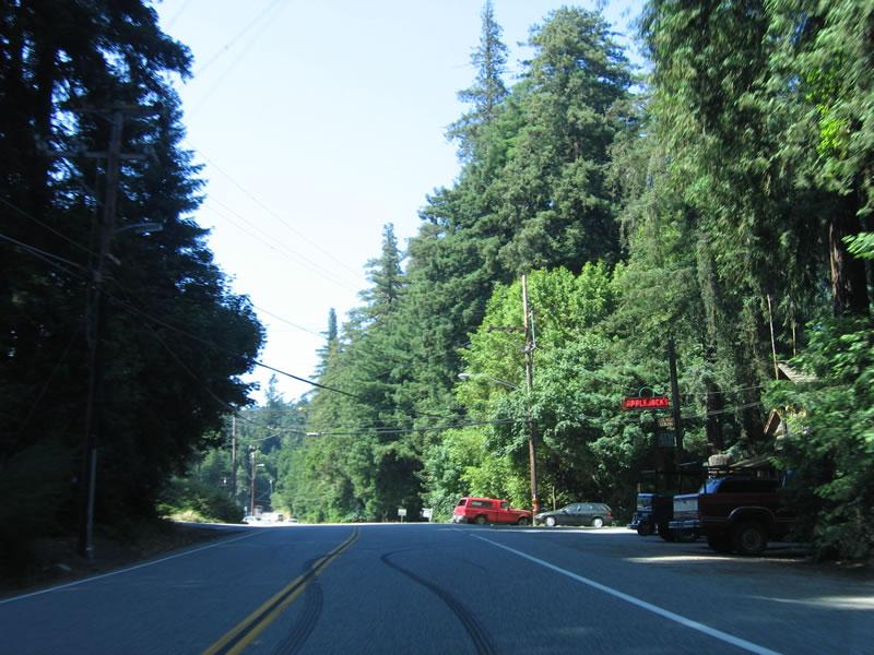 Honda Santa Cruz >> California @ AARoads - California 84 East - San Gregorio ...