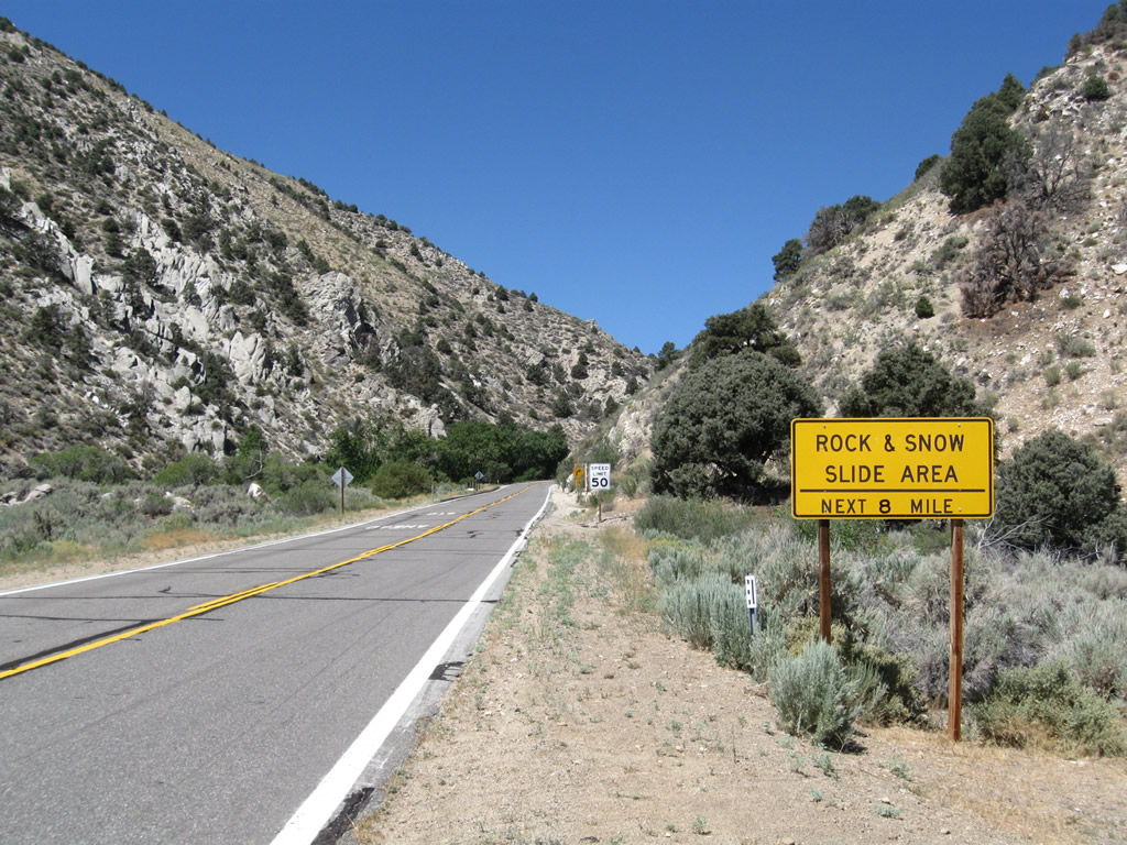California @ AARoads - California 89 North - Slinkard ...