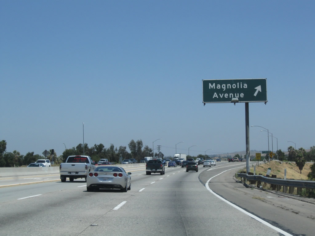 California @ AARoads - California 91 East - Exits 50 to 65