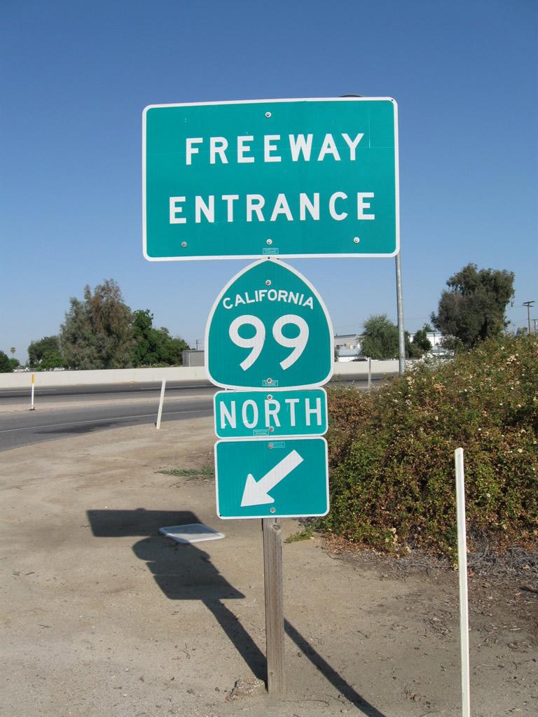 California Aaroads California 99