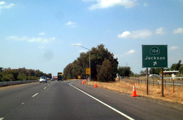 California @ AARoads - California 99 North - Sacramento County