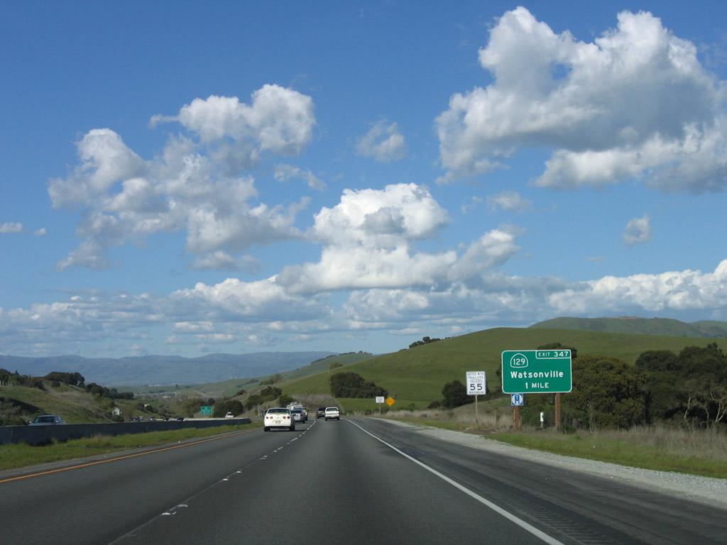California @ AARoads - U.S. 101 North - San Benito County