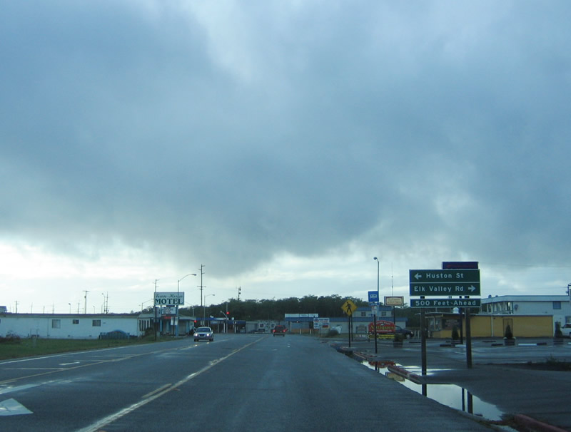 Highway  North Crescent City Ca