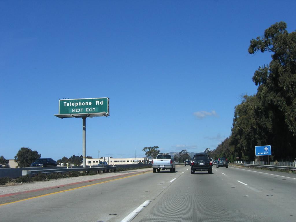 California Aaroads U S 101 North Ventura County