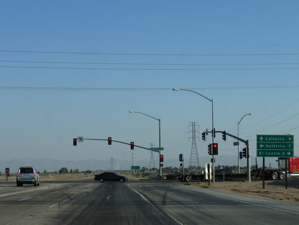 California @ AARoads - California 111 South - Brawley to Interstate 8