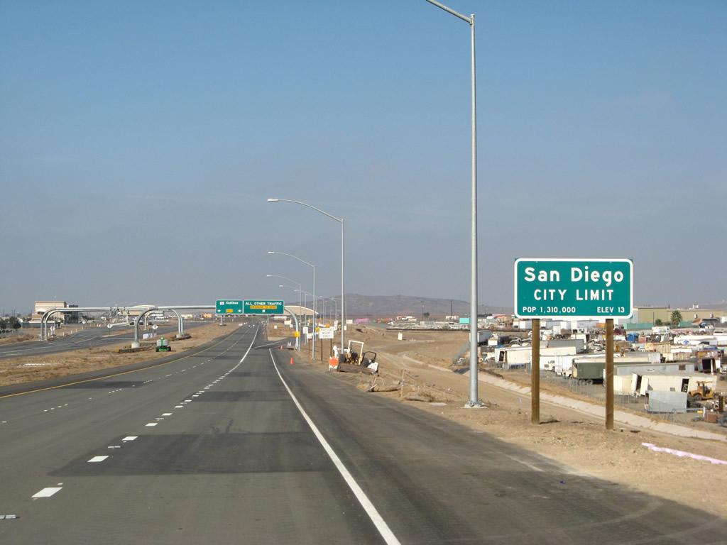 California 125 North Sr 905 To Sr 94