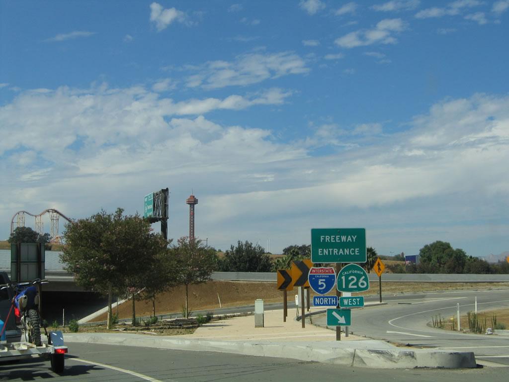 Freeway Auto Center >> California @ AARoads - California 126