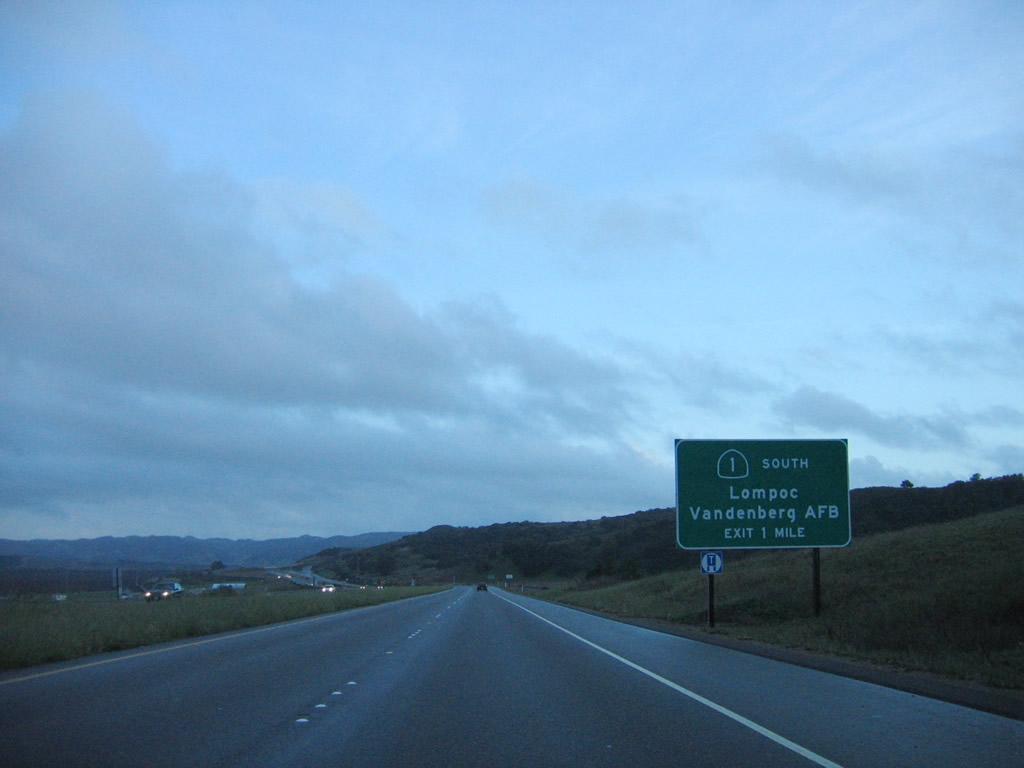 california aaroads california 1 south santa barbara county