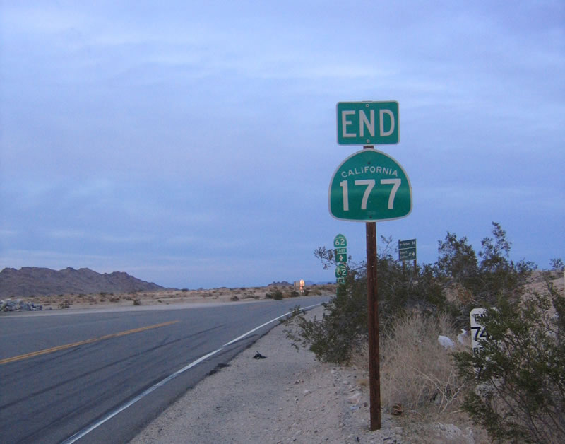 California @ AARoads - California 177  |California State Route 177