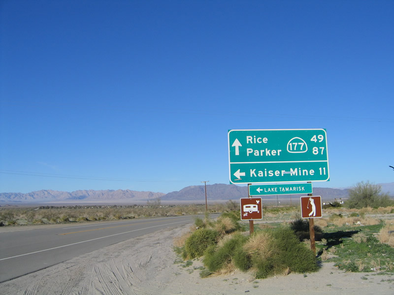 U.S. Route 60, SR 177 to SR 79 « Arizona Routes  |California State Route 177