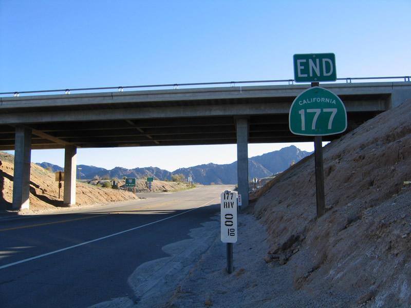 70 MPH on California State Route 177 | California State ...  |California State Route 177