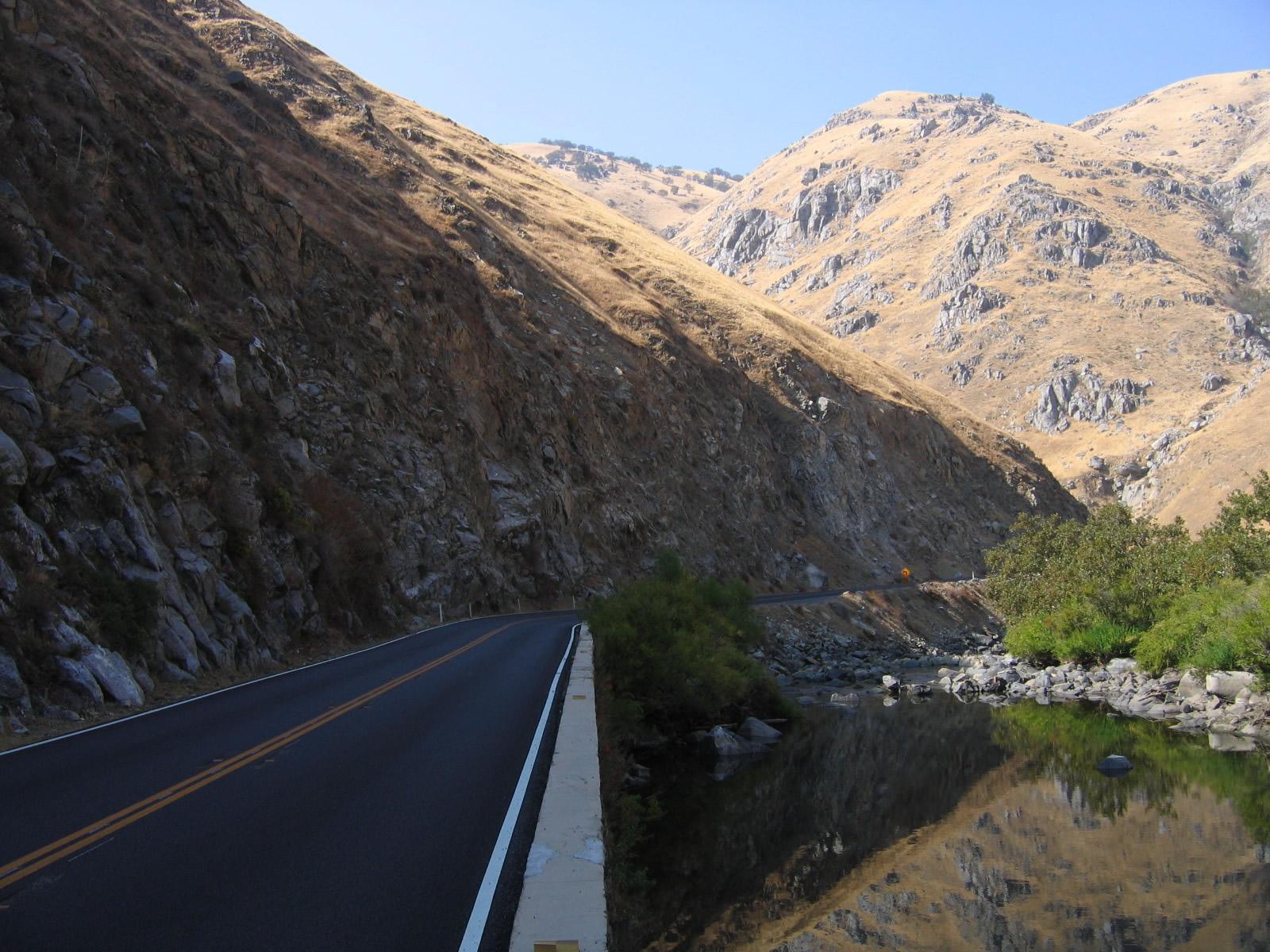 California @ AARoads - California 178 West - Kern River Canyon