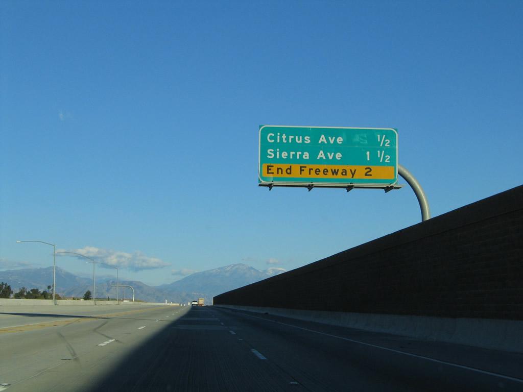 What Is Hov Lane >> California @ AARoads - California 210 East - Interstate 15 ...