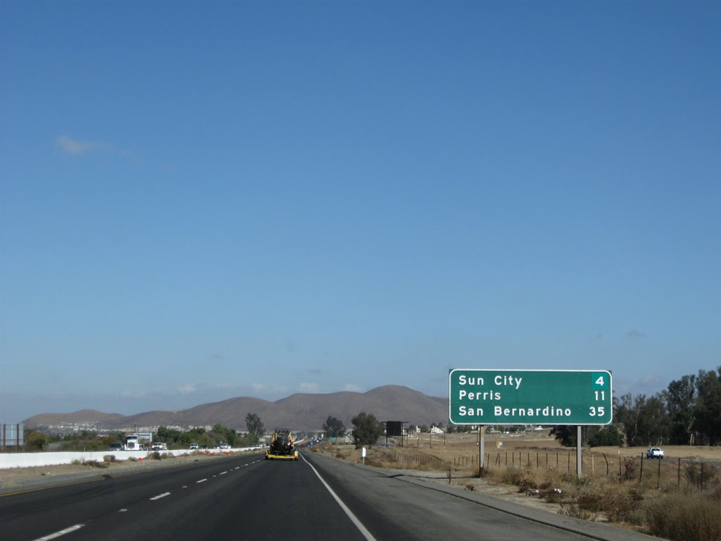 San Diego to Murrieta Route - distancesfrom.com