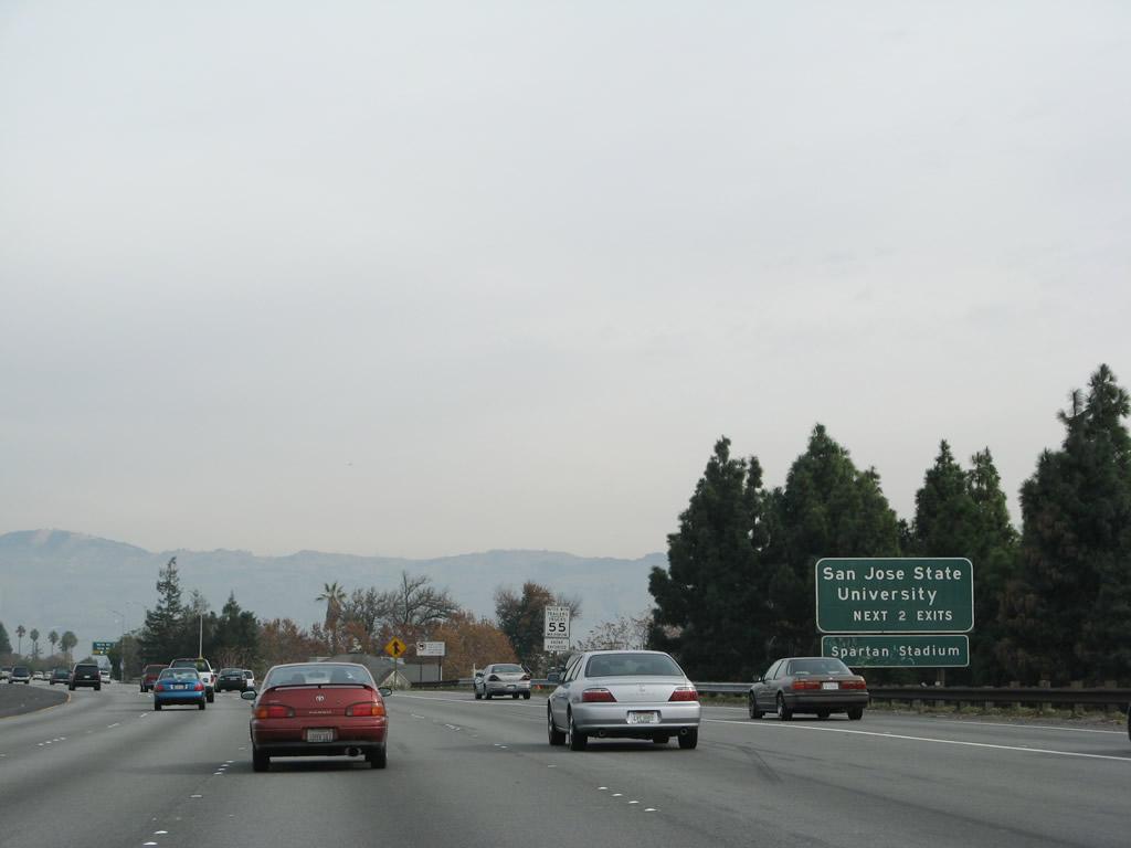 California @ AARoads - Interstate 280 South - Santa Clara County
