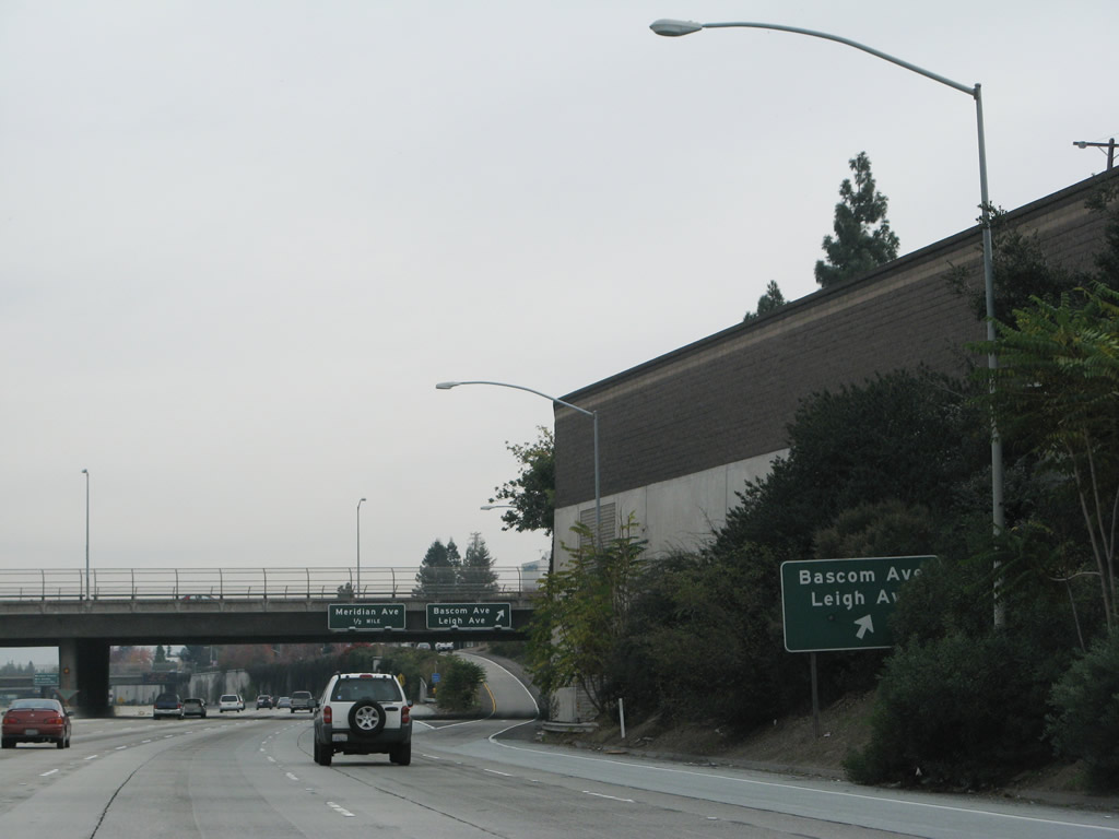 The exit signage for Exit 5A Leigh