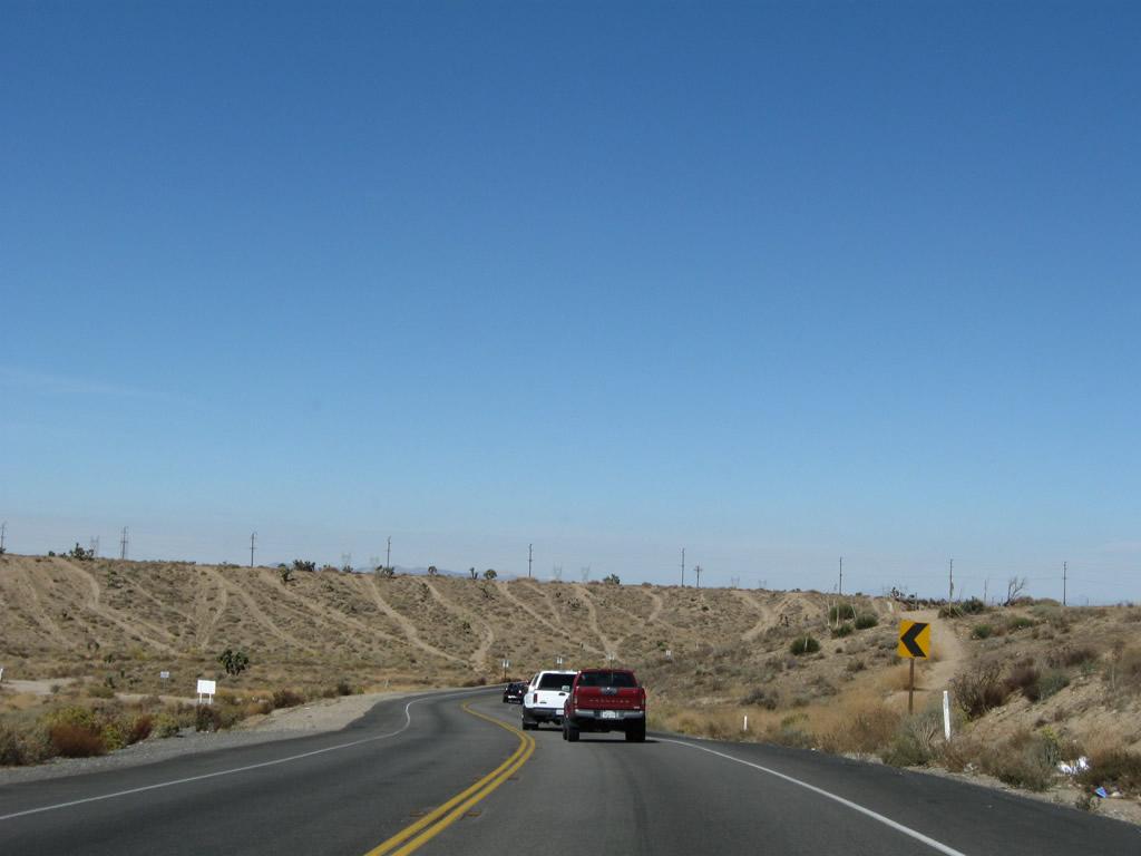 California @ AARoads - U S  395 North - San Bernardino County #1
