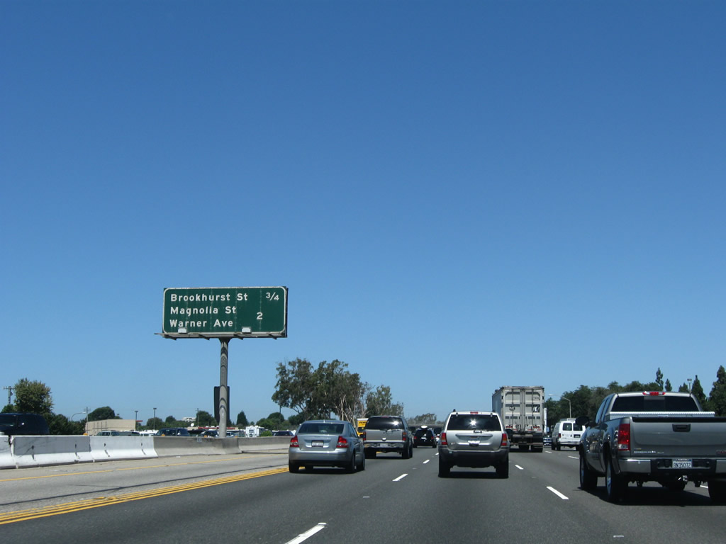 California @ AARoads - Interstate 405 north - Orange County #2