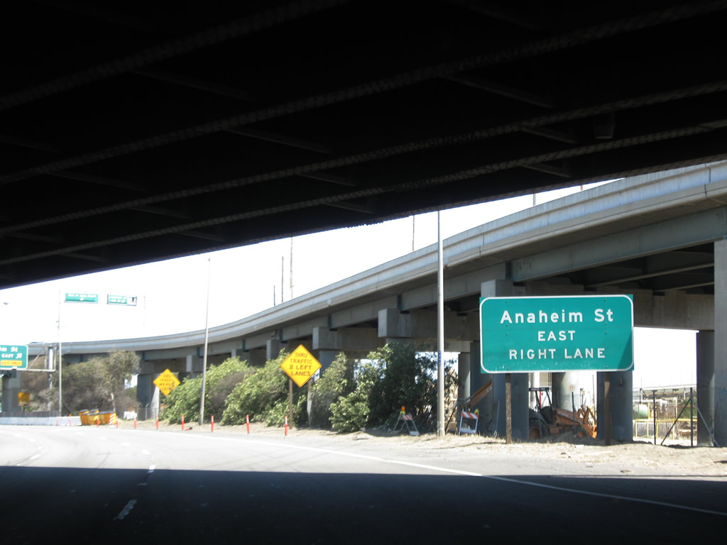 how to get from anaheim to long beach california