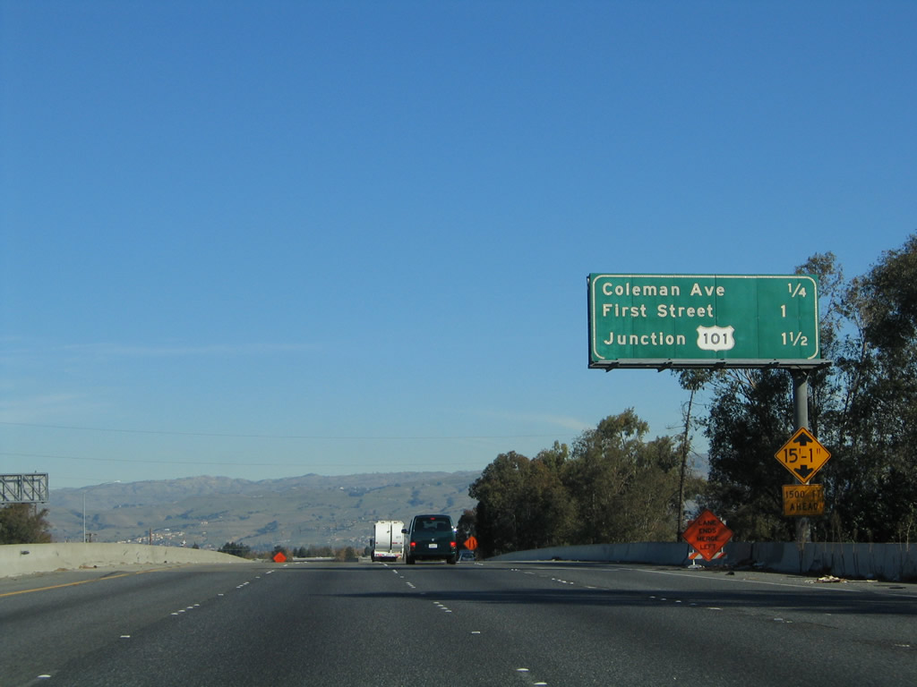 california aaroads interstate 880 north santa clara county. Black Bedroom Furniture Sets. Home Design Ideas