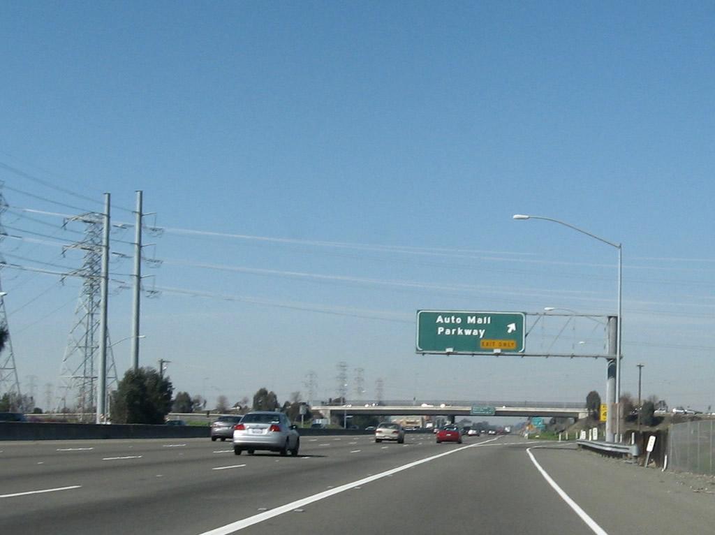 California AARoads Interstate 880 North Santa Clara