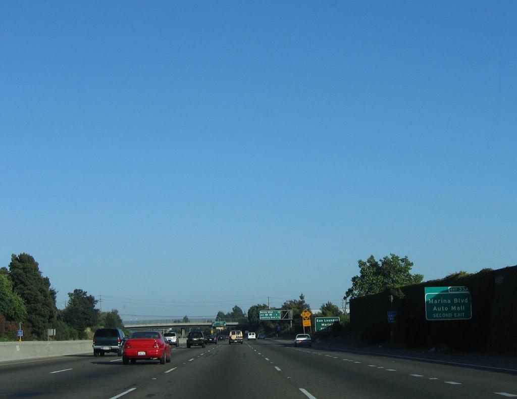 California aaroads interstate 880 south interstate for Cal west motors san leandro ca