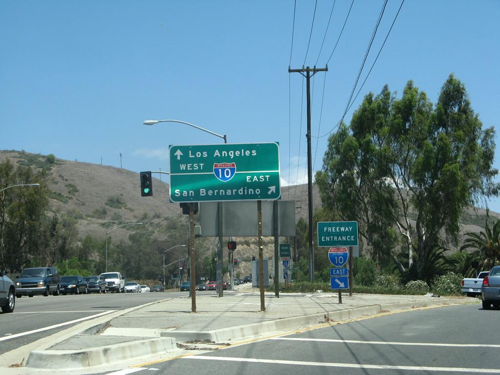 California @ AARoads - Interstate 10 East - Interstate 5 ...